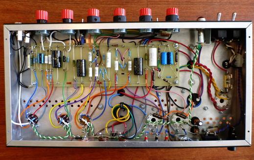 Henrik's DIY tube amps: Tremolux